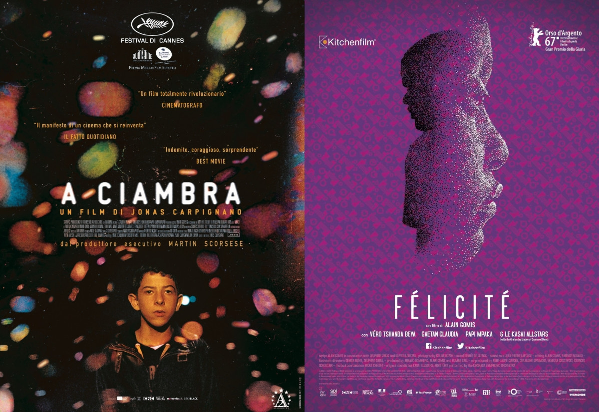 A CIAMBRA and FÉLICITÉ to hit Italian screens