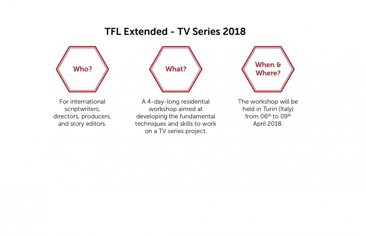 TorinoFilmLab launches TFL Extended - TV Series call!