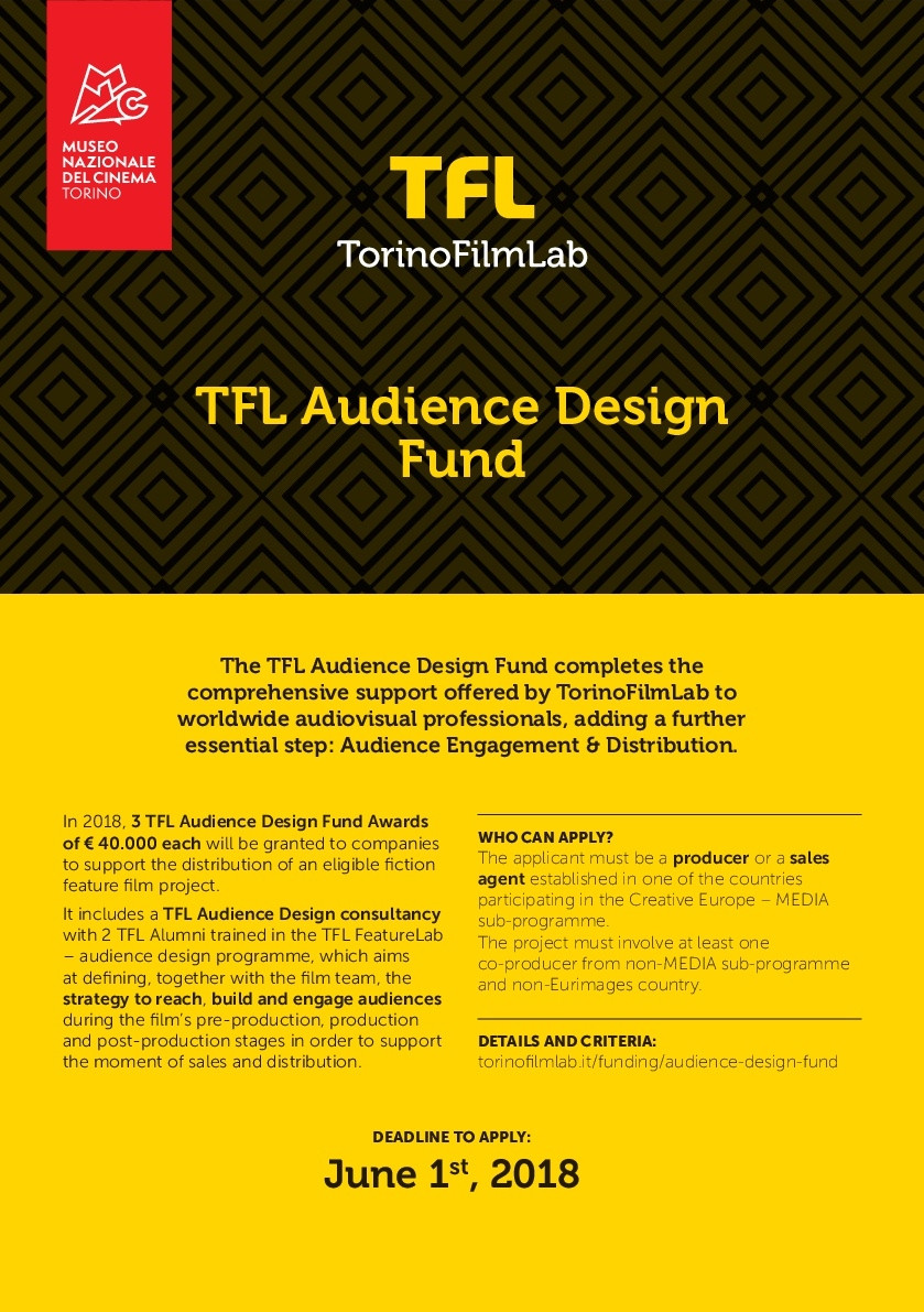 TFL Audience Design Fund now receiving applications!