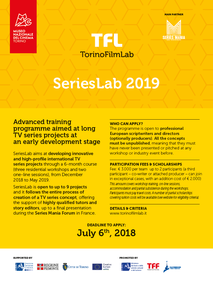 SeriesLab 2019: Open call for submissions!