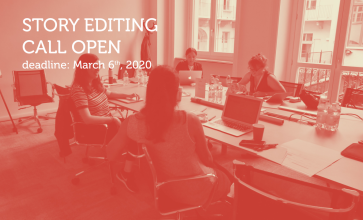 Apply now to the intensive workshop TFL Extended – Story Editing
